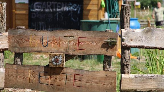 Zaun im Stadtteilgarten Bunte Beete