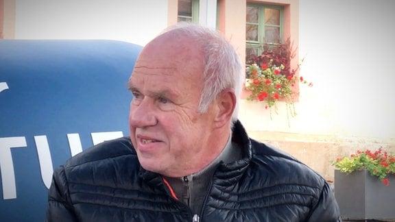 René Siese auf dem MDR-AKTUELL-Sofa