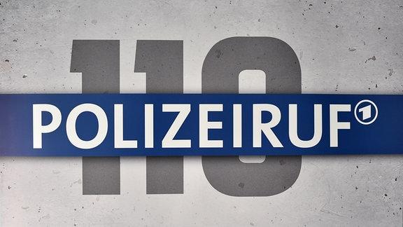 Das Logo der Krimi-Reihe Polizeiruf 110