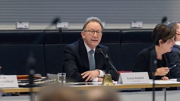 Erwin Rüddel (CDU), Vorsitzender des Gesundheitsausschusses im Bundestag