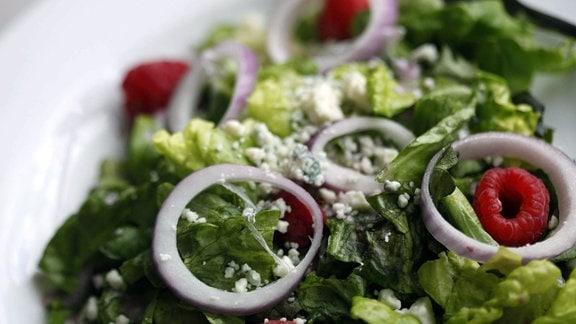 Salat mit Vinaigrette