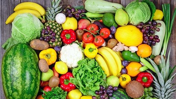 Convolut an Obst und Gemüse