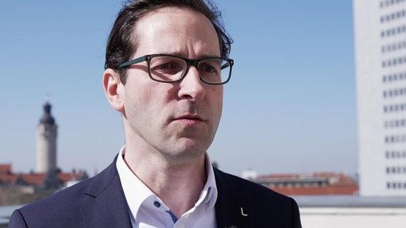 Maik Piehler, Geschäftsführer der Stadtwerke Leipzig