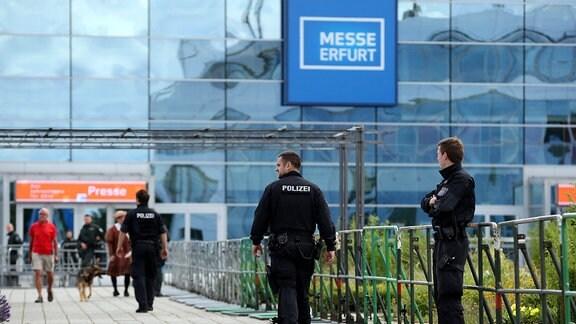 Messegeände in Erfurt