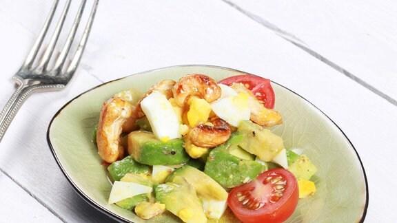 Avocadosalat mit Cashew