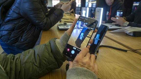 Ein Samsung Galaxy S10