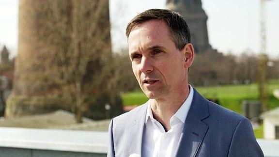 Ulrich Meyer, Geschäftsführer der Wasserwerke Leipzig