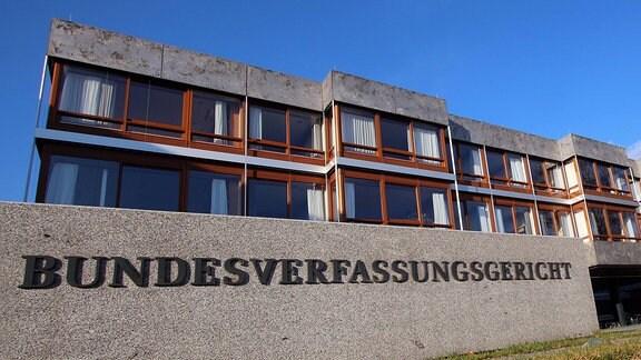 Bundesverfassungsgericht BVG in Karlsruhe.