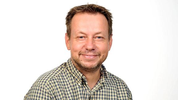 MDR-Wirtschaftsredakteur Frank Frenzel