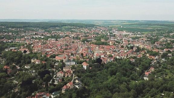 Die Stadt Eisenberg im Saale-Holzland-Kreis