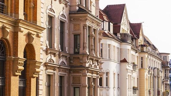 Fassaden von Altbauwohnung