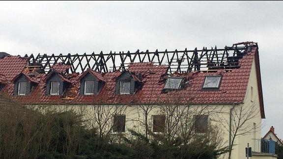 Ermittlungen Befragungen der Polizei in Tröglitz