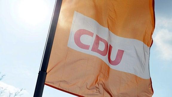 Fahne der CDU