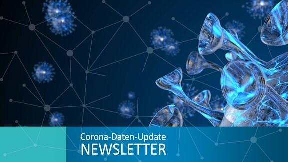 Animation einer Corona Viruszelle