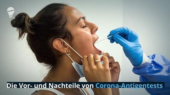 Das sind die Vor- und Nachteile von Corona-Antigentests