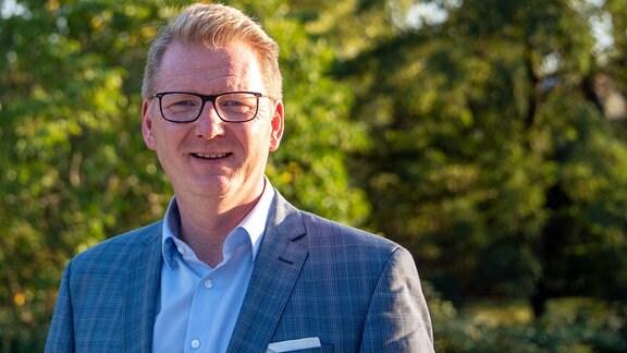Chef der Cyberagentur in Halle Prof. Christoph Igel