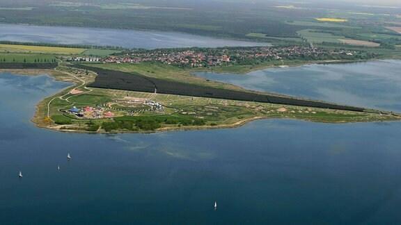 Halbinsel Pouch bei Bitterfeld