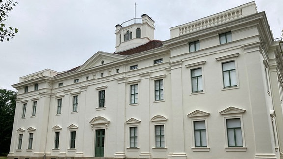 Außenansicht Anhaltische Gemäldegalerie.