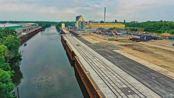 Industriehafen Roßlau
