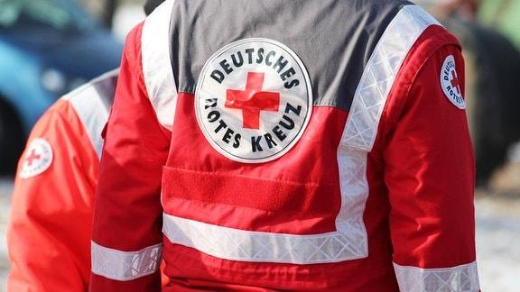 DRK-Helfer bei einer Festveranstaltung
