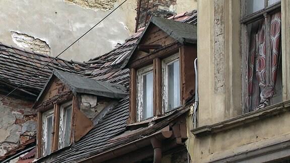 Ein verfallenes Haus