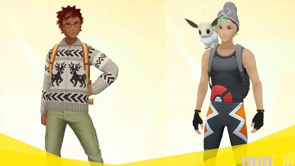 Pokémon-Go-Gruppenadmins Lukas und Markus als Avatare