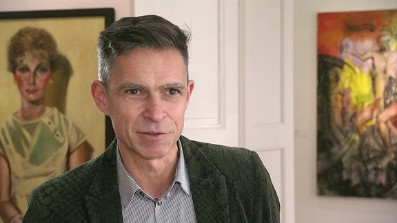 Matthias Rataiczyk vom Kunstverein Talstrasse Halle