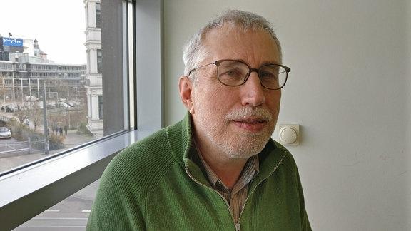 Dr. Oswald Knoth vom Leibniz-Institut für Troposphärenforschung im MMZ der Universität Halle-Wittenberg
