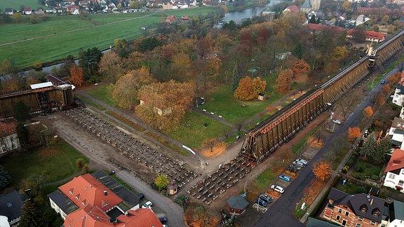 Gradierwerk in Bad Dürrenberg