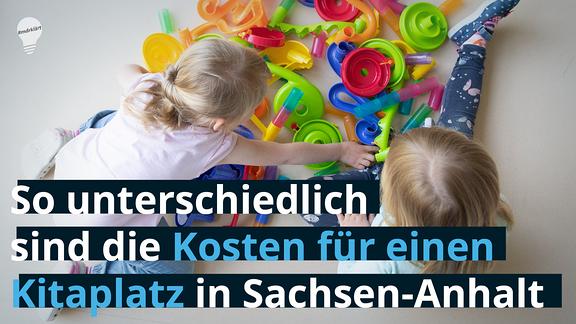 So unterschiedlich sind die Kosten für einen Kitaplatz in Sachsen-Anhalt