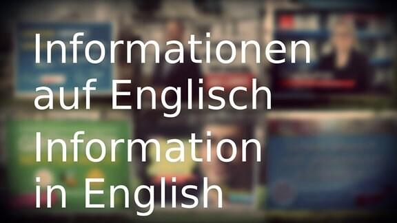Wahlinformationen auf Englisch