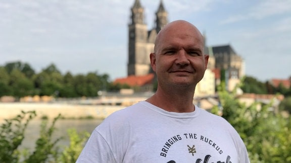 Stefan Kalweit-Schaulies, alleinerziehender Vater aus Magdeburg