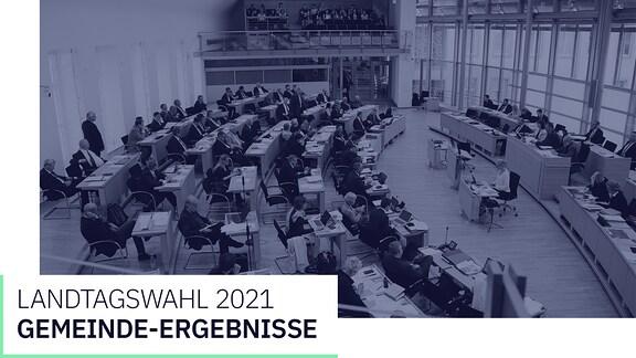 Grafik zur Landtagswahl 2021, Gemeindeergebnisse