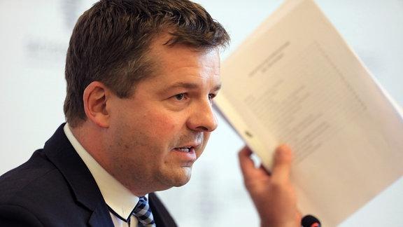 Sven Schulze, Vorsitzender der CDU Sachsen-Anhalt