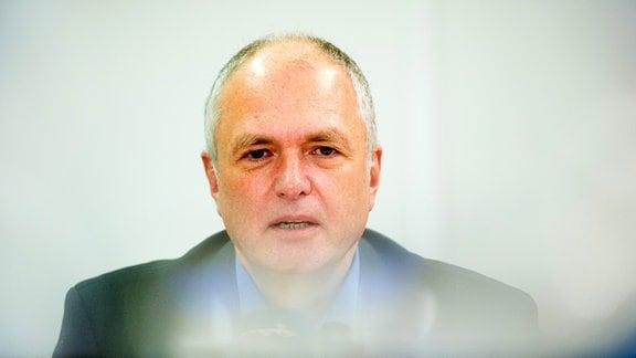 """Thomas Lippmann, Fraktionsvorsitzender der Partei """"Die Linke"""""""