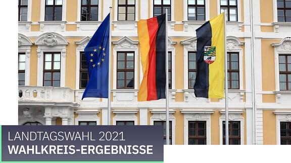 Grafik zur Landtagswahl 2021, Wahlkreisergebnisse