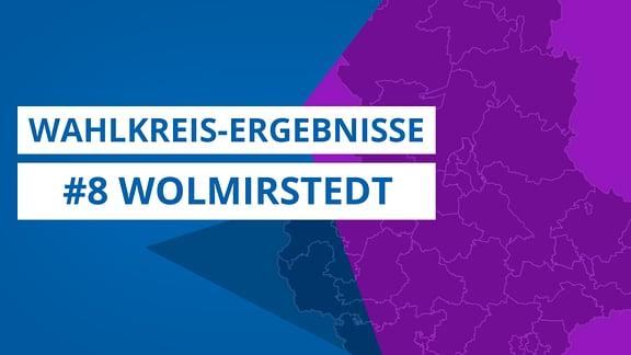 Grafik zur Landtagswahl 2021, Wahlkreis 8 Wolmirstedt