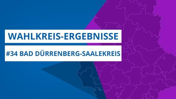 Grafik zur Landtagswahl 2021, Wahlkreis 34 Bad Dürrenberg-Saalekreis