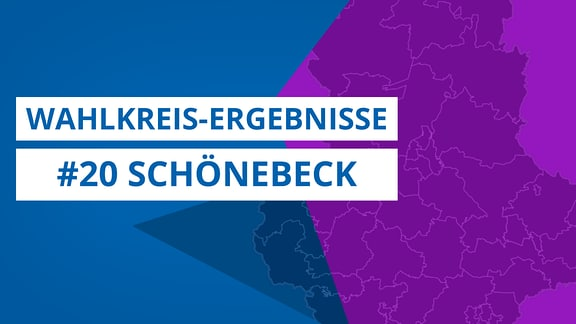 Grafik zur Landtagswahl 2021, Wahlkreis 20 Schönebeck