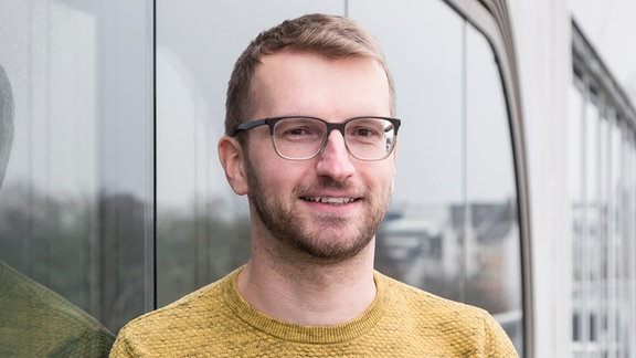 MDR SACHSEN-ANHALT-Reporter Lucas Riemer