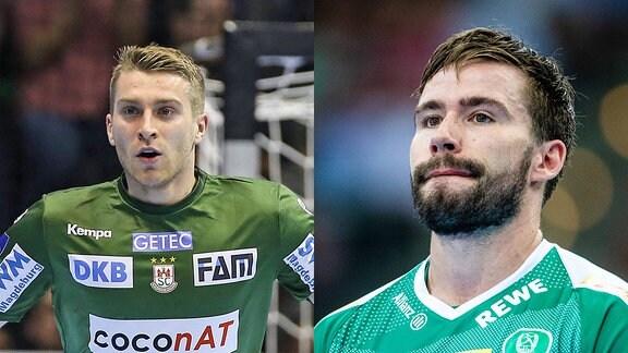 Lukas Mertens und Lukas Binder