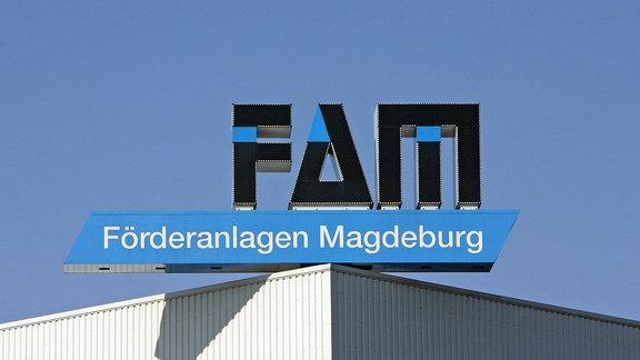 Logo der Magdeburger Foerderanlagen und Baumaschinen GmbH