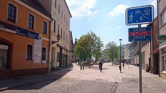 Marktplatz in Schönebeck