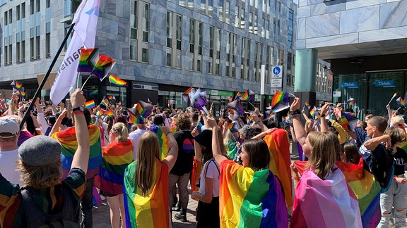 Christopher Street Day in Magdeburg 2021