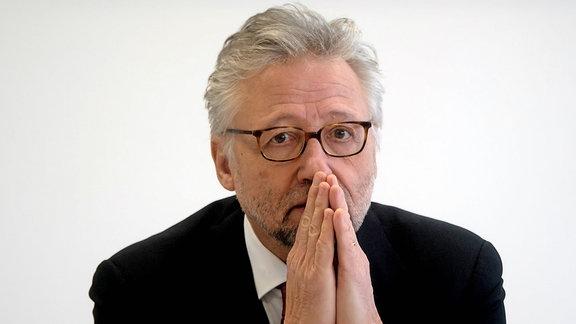 Prof. Dr. Hans-Jochen Heinze, Vorsitzender des wissenschaftlichen Beirates Universitätsmedizin Niedersachsen