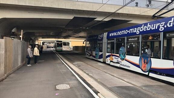 Straßenbahntunnel Magdeburg