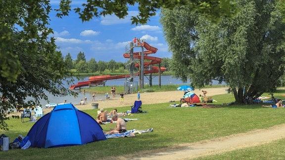 Freizeitpark Pirkau mit Mondsee. 2013