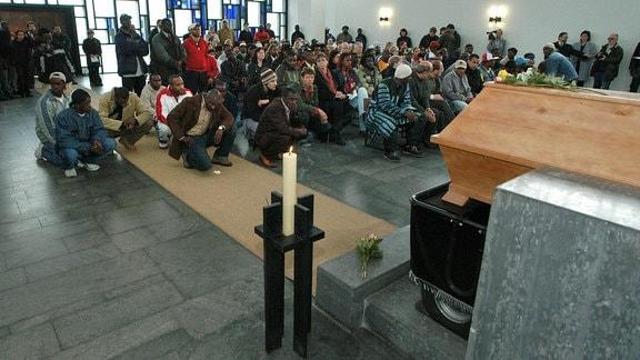 Trauerfeier für Oury Jalloh