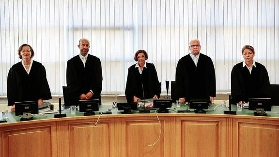 Richterinnen und Richter des Oberlangdesgerichtes Magdeburg.