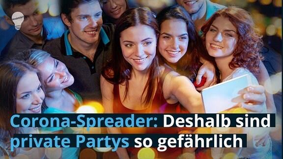 Corona-Spreader: Deshalb sind private Partys so gefährlich